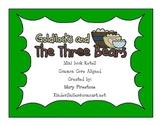 Goldilocks & the Three Bears Mini Book Retell
