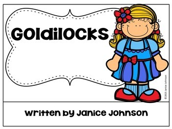 Goldilocks & the Three Bears Reader ~ Simplified for Young Readers