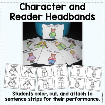 Goldilocks and the Three Bears  Reader's Theater Fun!