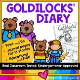 Goldilocks & the Three Bears Story Elements Journal ... 13 story variations