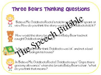 Goldilocks vs. Believe Me,Goldilocks Rocks: A Comparing & Contrasting Companion