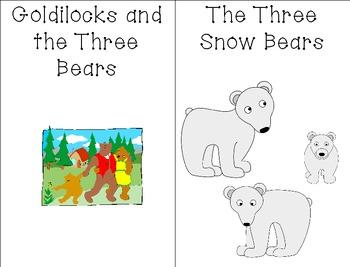 Goldilocks vs.Three Snow Bears Compare/Contrast