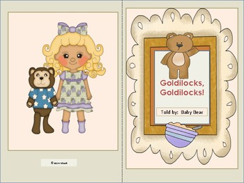 "ESL Activity: Vocabulary/Literacy Skills ""Goldilocks,Goldilocks""+ELL Newcomers"