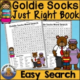 Just Right Book Word Search   Easy