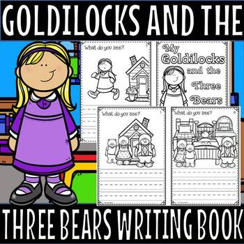 Goldliocks and the three bears little book(50% off for 48 hours)