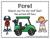 Golf CVC Hide and Seek Game