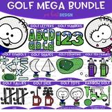 Golf Clip Art - Golf Mega Bundle{jen hart Clip Art}