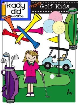 Golf Kids {by Kady Did Doodles}