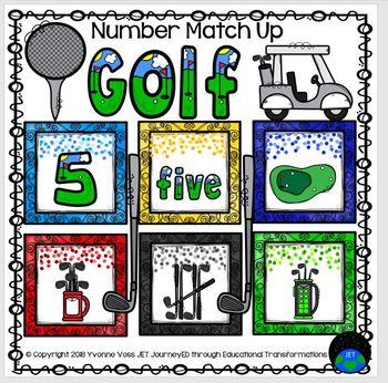 Golf Number Match Up