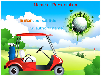 Golf PPT Template