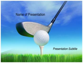 Golf PPT Template