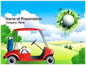 golf powerpoint templatetemplates vision | teachers pay teachers, Modern powerpoint
