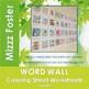 Golgi Apparatus Word Wall Coloring Sheet