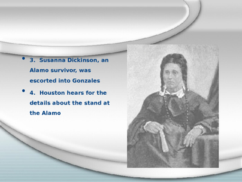 Goliad and San Jacinto Powerpoint