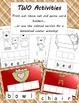Golidlocks and the Three Bears Vocabulary Building Activities