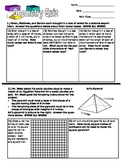 Gometry Assesment Grade 6 Math: Volume and Surface Area
