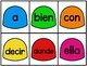 Gomitas de Colors- Spanish High Frequency Words