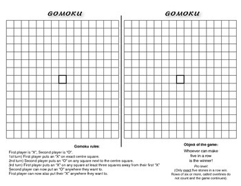 Gomoku - Chinese Five-in-a-Row
