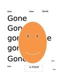 Gone: A poem
