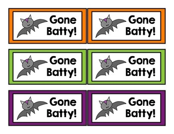 Gone Batty! 5.NBT.4 Rounding Game