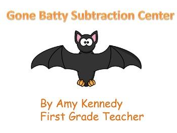 Gone Batty Subtraction Center