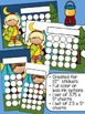 Gone Camping Sticker Incentive Charts - Full Color and Les
