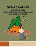 Gone Camping: Literacy Centers, Informational Reading Pass