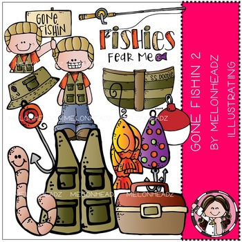 Melonheadz: Gone Fishin clip art Part 2