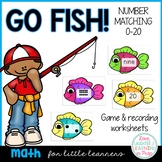 Numbers 0-20 Matching Game {Gone Fishin'}