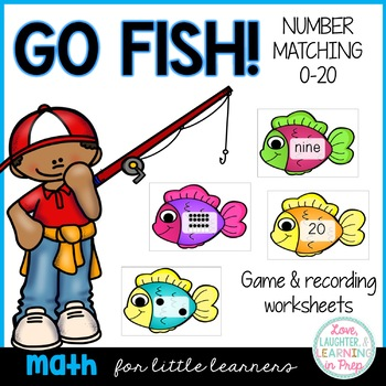 Gone Fishin'! A hands on matching activity for numbers 0-20.