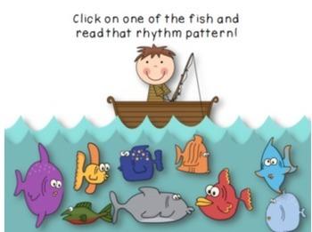 Gone Fishin' Fifth Grade Rhythmic Set {Tam-ti, 6/8 rhythms}