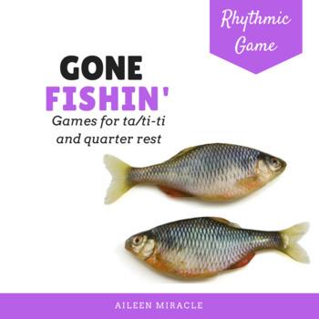 Gone Fishin' First Grade Rhythmic Set {Ta and Ti-Ti, Quart