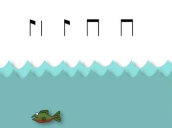 Gone Fishin' Fourth Grade Rhythmic Set {Syncopa, Tim-ka}