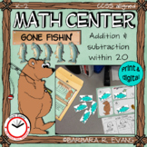 MATH CENTER Forest Theme Addition Subtraction within 20