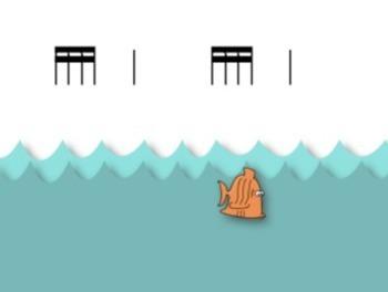 Gone Fishin' Second Grade Rhythmic Set {Tika-Tika, Half Note}