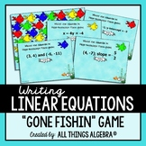 Writing Linear Equations Gone Fishin' Game