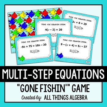 Multi Steps Equations Teaching Resources | Teachers Pay Teachers