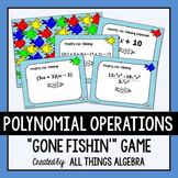 Polynomial Operations Gone Fishin' Game