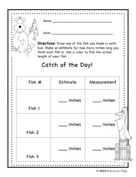 Gone Fishing - A Measurement Mini Unit