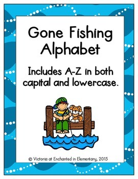 Gone Fishing Alphabet! Letter and Sound Recognition Game