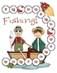 Gone Fishing - Ig, In, Ip, and It Word Family File Folder Game