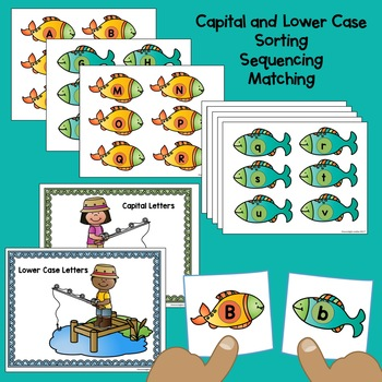 Gone Fishing Literacy and Math Centers for Kinders and Pre-K
