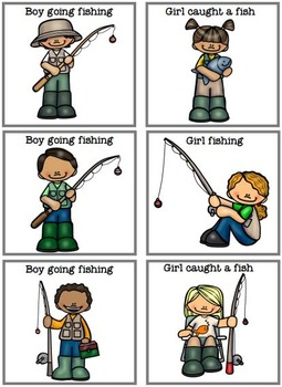 MATCHING TASKS Gone Fishing
