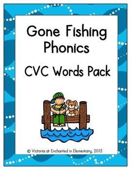Gone Fishing Phonics: CVC Words Pack