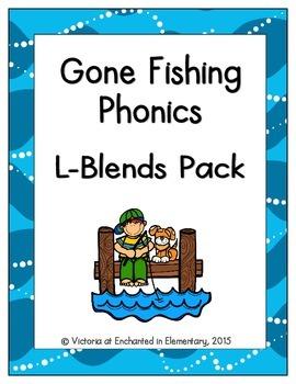 Gone Fishing Phonics: L-Blends Pack
