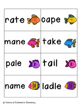 Gone Fishing Phonics: Long A Pack