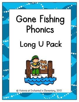 Gone Fishing Phonics: Long U Pack