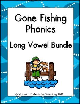 Gone Fishing Phonics: Long Vowel Bundle