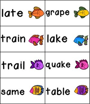 Gone Fishing Phonics: Long Vowel Bundle