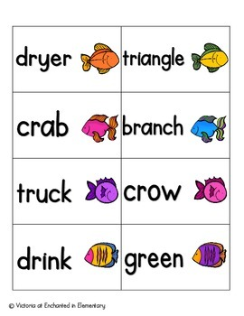 Gone Fishing Phonics: R-Blends Pack
